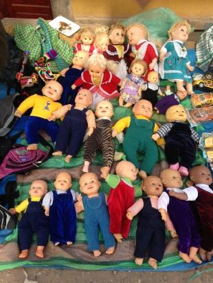 Freaky dolls...lots of freaky dolls.
